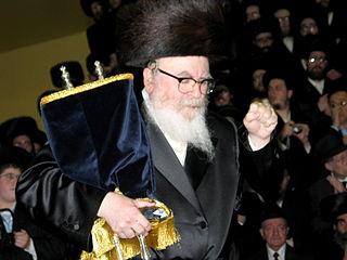 David Twersky (Skverer Rebbe) Grand rabbi of New Square