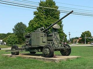 M51 Skysweeper anti-aircraft gun