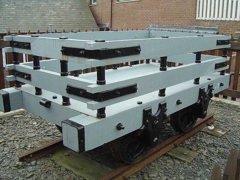 File:Slate wagon on Talyllyn Railway - 2008-03-18.jpg