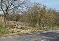 Slippery road....^ - geograph.org.uk - 742707.jpg