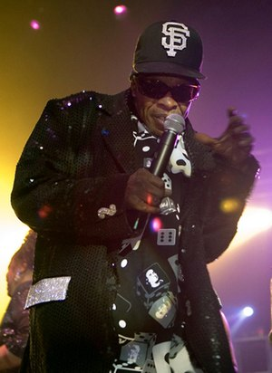 Sly Stone - Sly Stone performs with the Family Stone in 2007.