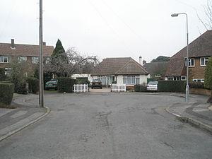 Small turning circle at end of Lodge Road - geograph.org.uk - 633917.jpg