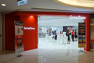 SmarTone Telecommunications company in Hong Kong