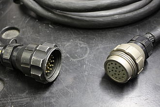 Socapex - 19 pin Socapex connector