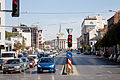 Sofia blvd Todor Aleksandrov view to square Nezavisimost 2012 PD 1.jpg