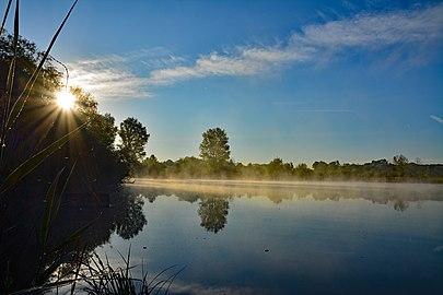 Sonnenaufgang Reinheimer Teich.jpg