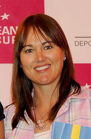 Sophie Gustafson - Gustafson in April 2011