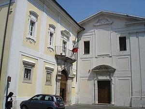 Sora, Lazio - Image: Sora Palazzo di Giustizia (già Sottoprefettura)