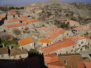Centro Region, Portugal - Sortelha, the historic town nestled within the rugged hills