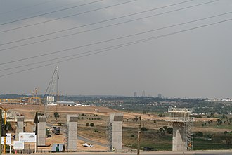 Gautrain - Image: South Africa Gautrain Construction 002