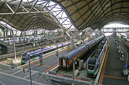 Overlooking platforms 8, 7 & 6 Southern Cross Station.jpg