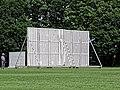 Southgate CC sight screen at Walker Cricket Ground, Southgate, London, England 01.jpg
