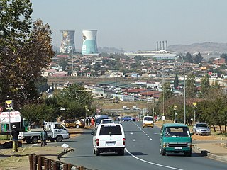 Soweto Place in Gauteng, South Africa
