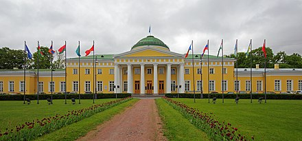Potemkin's Tauride Palace in St. Petersburg Spb 06-2012 Tauride Palace 02.jpg