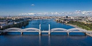Neva River in Russia