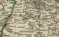 Special-Atlas des Königreichs Westphalen Departement der Elbe Kantone Bretsche und Osterburg 1812.png