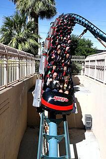 Speed – The Ride rollercoaster in Las Vegas, Nevada