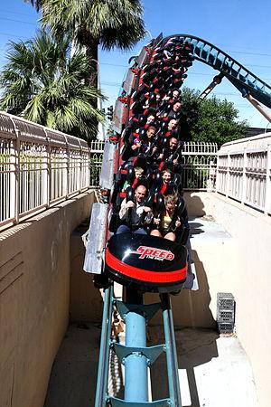 Speed – The Ride - Image: Speed The Ride Las Vegas