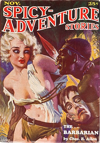 Harry Donenfeld - Image: Spicy Adventure Stories November 1934