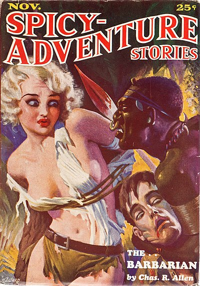 Spicy-Adventure Stories November 1934