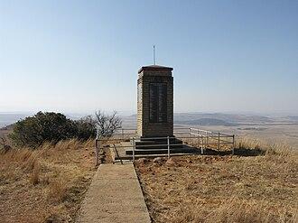 Spion Kop Battlefield Memorials - Boer memorial