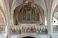 Spitz an der Donau - Kirche, Orgelempore.JPG