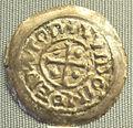 Spoleto, denaro di stampo largo del duca guido, 889-894.JPG