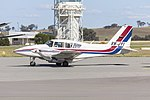 Spookfish Aviation (VH-JYI) Piper PA-23-250 Aztec taxiing at Wagga Wagga Airport.jpg