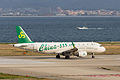 Spring Airlines, 9C8916, Airbus A320-214, B-9965, Departed to Xi'an, Kansai Airport (17197396545).jpg