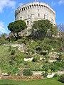 Spring rock garden and Windsor Castle - geograph.org.uk - 1223829.jpg