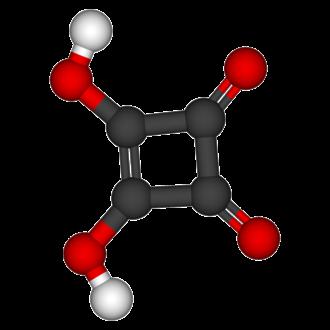 Squaric acid - Image: Squaric acid 3D balls