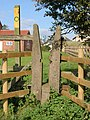 Squeeze stile in Waltham on the Wolds - geograph.org.uk - 1002194.jpg