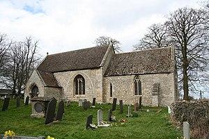 Little Ponton - Image: St.Guthlac's church, Little Ponton, Lincs. geograph.org.uk 144537