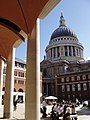 St. Paul's seen from Paternoster Square - geograph.org.uk - 53995.jpg