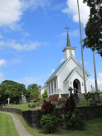 Kapaau, Hawaii - St. Augustine's Episcopal Church was completed in 1884.