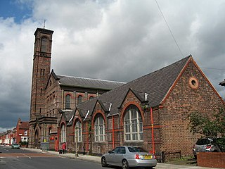 Church of Saint Bridget, Liverpool Church in Merseyside, England
