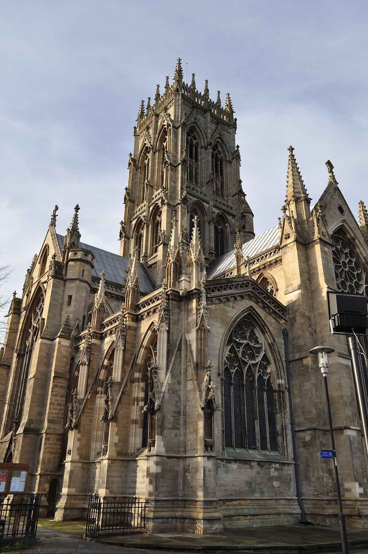 St George\u0027s Minster, Doncaster - Wikipedia