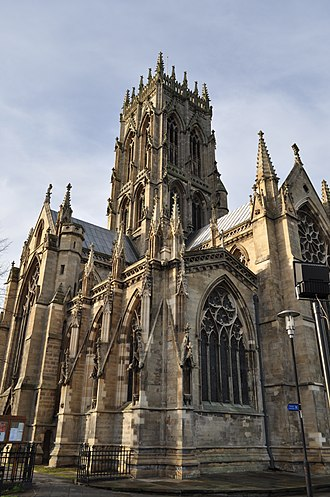Yorkshire - St George's Minster in Doncaster was built in 1858 and is Grade I listed