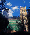 St John's Cathedral, Hong Kong, undergoing renovations in 2013.jpg