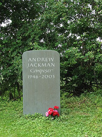 Andrew Pryce Jackman - Jackman's grave at St Margaret's church, Tivetshall St Margaret, Norfolk