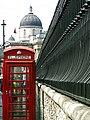 St Martin's, London. Towards Trafalgar Square ^ dome of The National Gallery. - panoramio.jpg