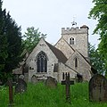 St Mary the Virgin's Church, Worplesdon Road, Worplesdon (May 2014) (5).JPG