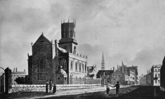 St Peter's Church, Liverpool - St Peter's Church in 1800
