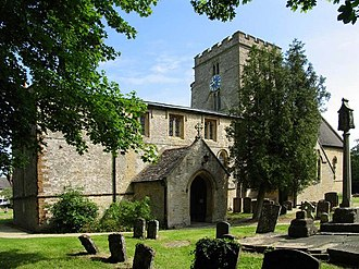 Bucknell, Oxfordshire - Image: St Peter, Bucknell, Oxon geograph.org.uk 1634567