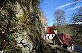 St Wendel zum Stein, eine spätgotische Kapelle wunderschön in die Felslandschaft an der Jagst integriert. 08.jpg