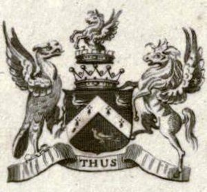 Viscount St Vincent - Arms of the Earl of St. Vincent