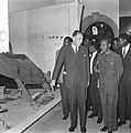 Staatsbezoek president Nyerere van Tanzania, president Nyerere bezoek gebracht a, Bestanddeelnr 917-6725.jpg