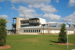 Charlotte Sports Park - Charlotte Sports Park in January 2009, nearing completion of renovation.