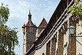 Stadtmauer östlich des Klingentors Rothenburg ob der Tauber 20190922 002.jpg