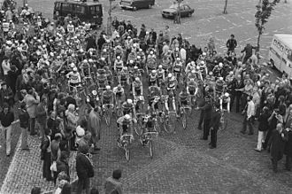 1978 Tour de France - The start of stage 1b in Sint Willebrord, Netherlands